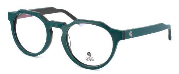 #green #forest #round #shape #nice #calm #funky #retro #skull #eyeglasses
