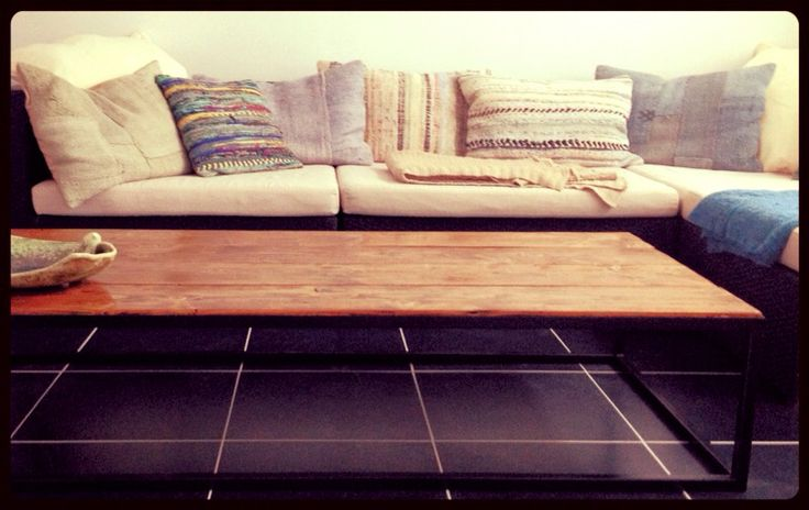 Cosy lounge, Collection Steel N Wood