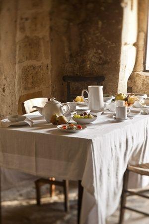 Italy - Basilicata | breakfast at Hotel Grotte della Civita,Matera
