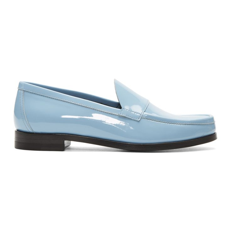 Pierre Hardy - Blue Hardy Loafers