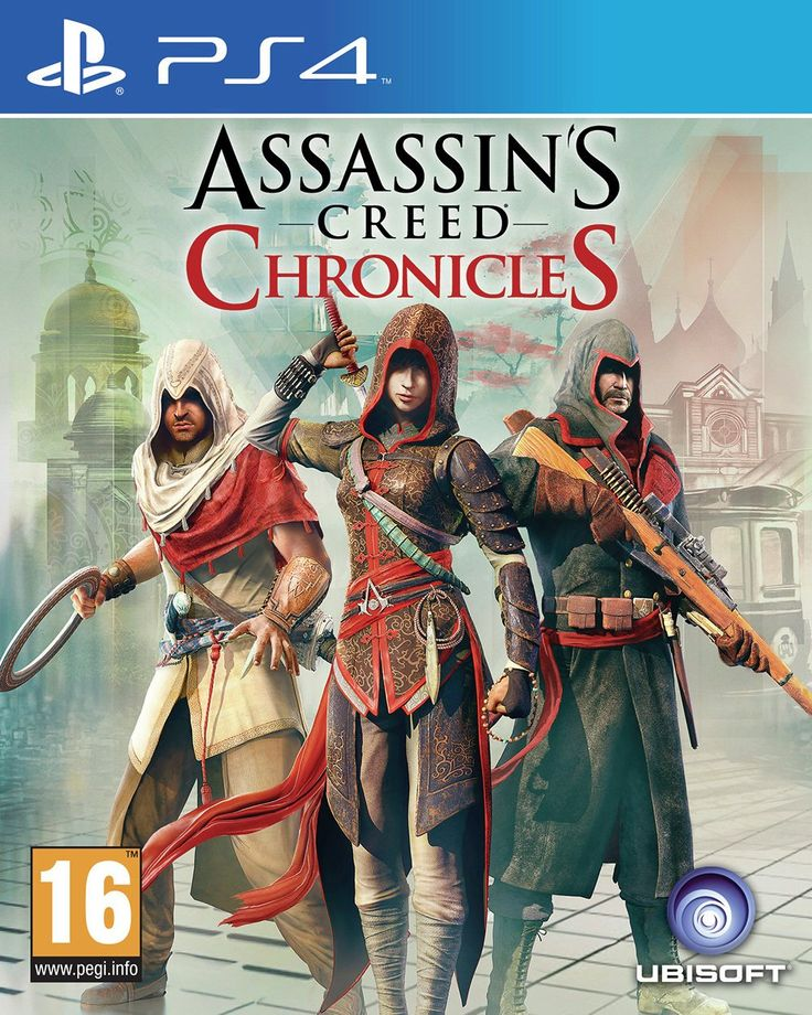 Assassin's Creed - Chronicles - PS4 Game.: Assassins Creed: Chronicles take players to three distinct civilizations and periods throughout…