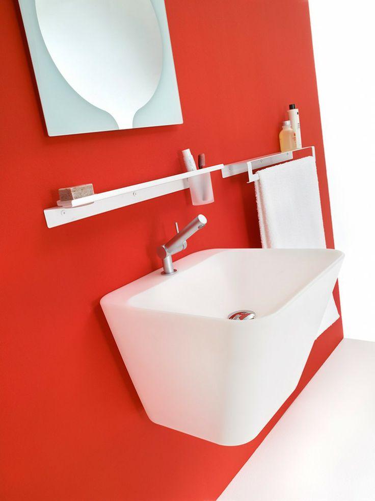 simplex lavabo white