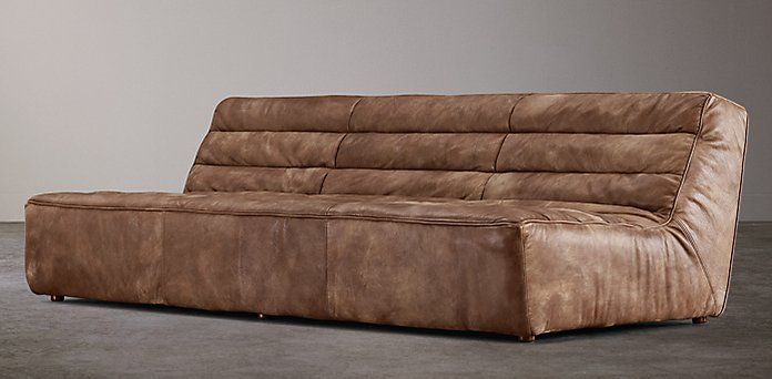 Chelsea restoration hardware sofas and armchairs for Chelsea leather sofa