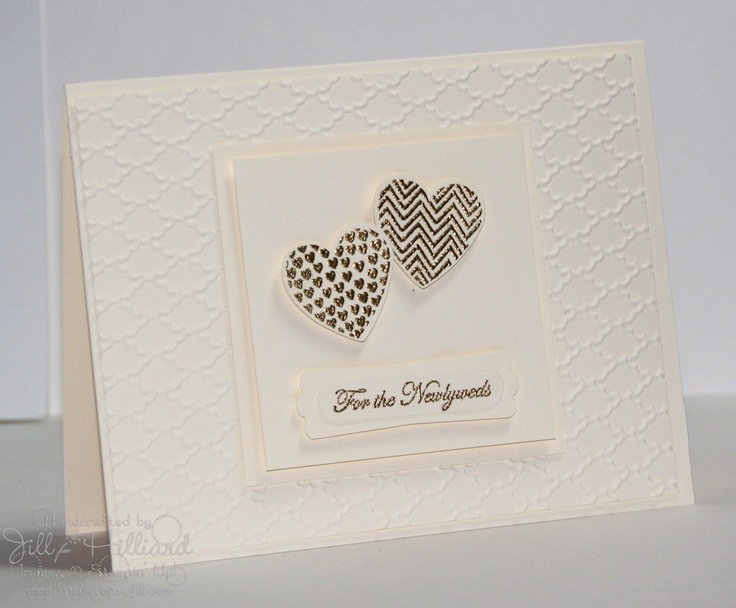 Hearts a Flutter, Jill's Card Creations