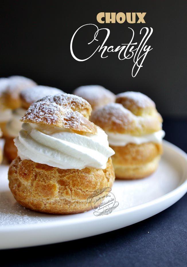 Recette de petits choux à la Chantilly, un délice à dévorer d'une bouchée !
