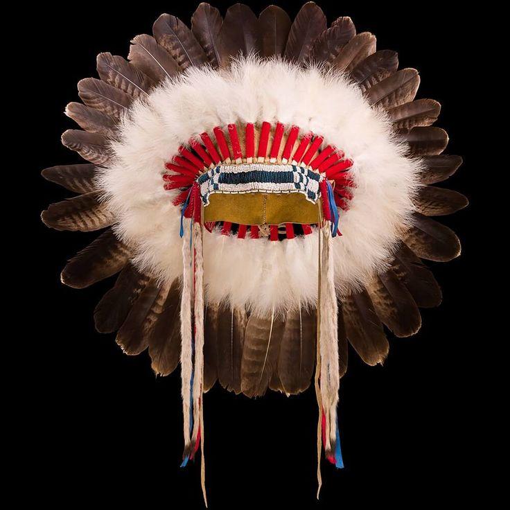 Индейский головной убор в стиле Шайенов 3000.15.01 (фото 4) ☩ «4Colors»™