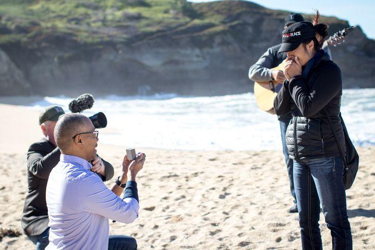 San Francisco Proposal Photography – L O V E