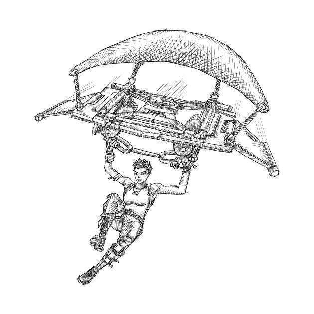 Fortnite Dibujos Animados Para Colorear