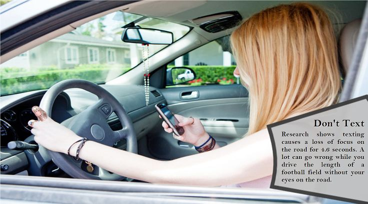 Never use a cell phone while driving If you are chatting on a cell phone or sending and receiving text messages, you will not be giving your driving your full attention, and you will not be aware of what is going on with other drivers around you. #allweathertyres