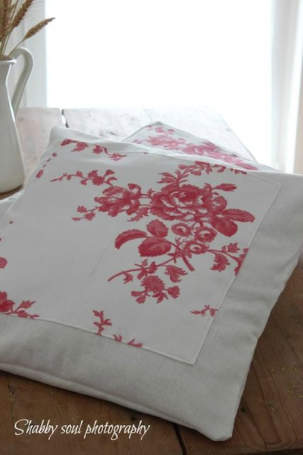 Shabby soul: Pillow Without Hinge - Cuscino senza cerniera - Tutorial