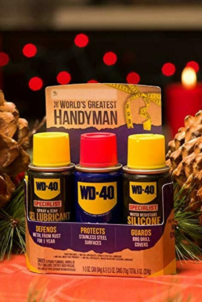 Wd 40 Portable Lubricant Kit Multi Use Specialist Silicone Lubricant Gel Lubrica Wd40 Candle Jars Silicone Lubricant Lubricant