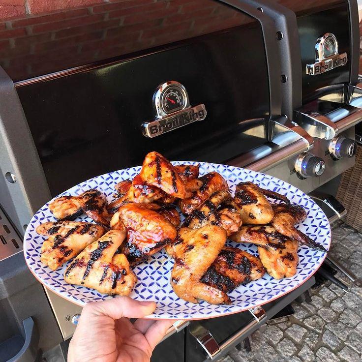 Bufallo Wings #BroilKingPL #grillgazowy #grill #broilkingbbq
