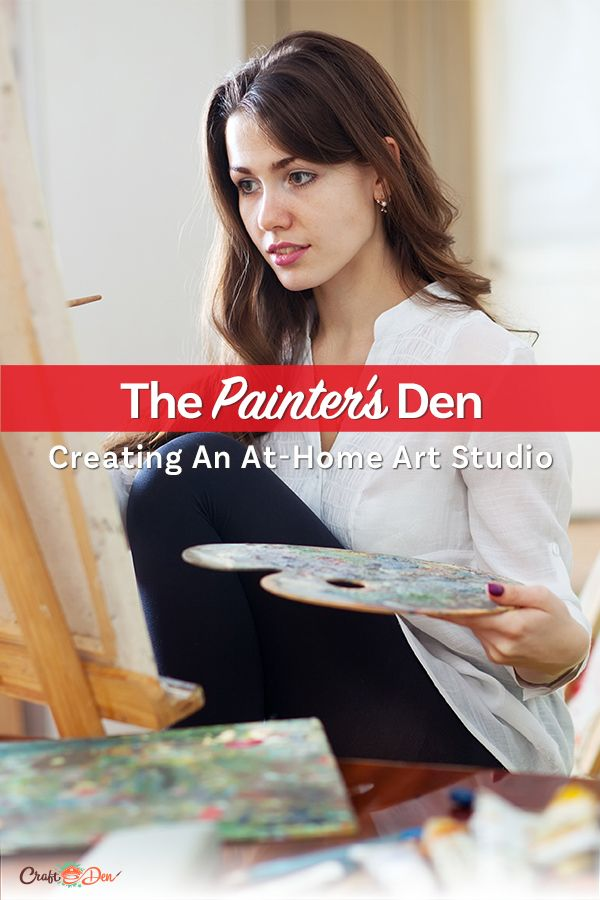 What Goes Into Creating The Ultimate Painter's Art Studio At Home?