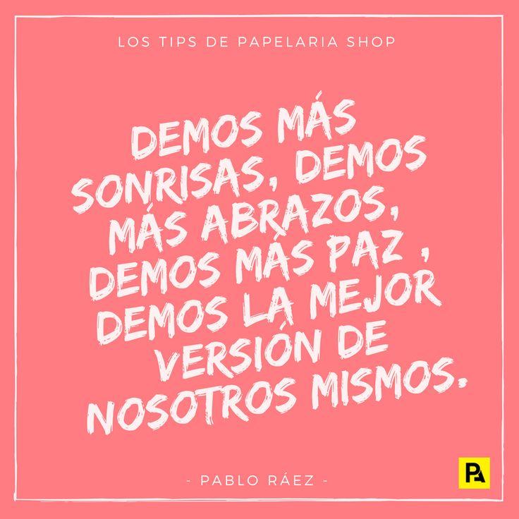 ¿Y si damos la mejor versión de nosotros mismos como hacía Pablo Ráez?