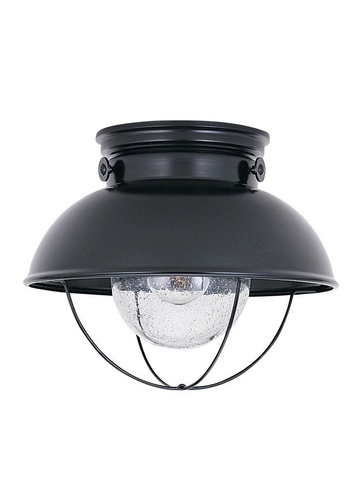 Southdown Link Transitional 1 Light Outdoor Ceiling Fixture Black Bailey Street Home 73 In 2021 Outdoor Ceiling Lights Outdoor Flush Mount Lights Flush Mount Lighting Outdoor porch lights flush mount