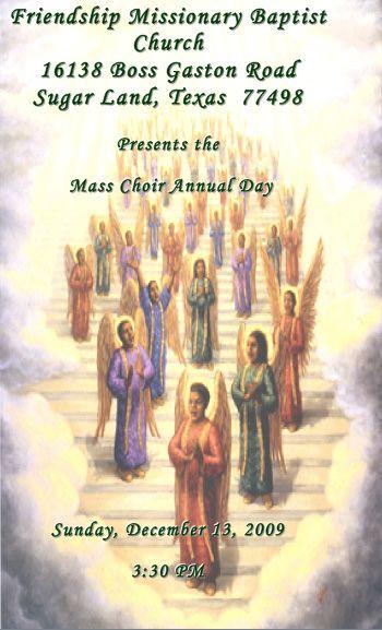 Church Annual Usher Day Program Themes Church Programs