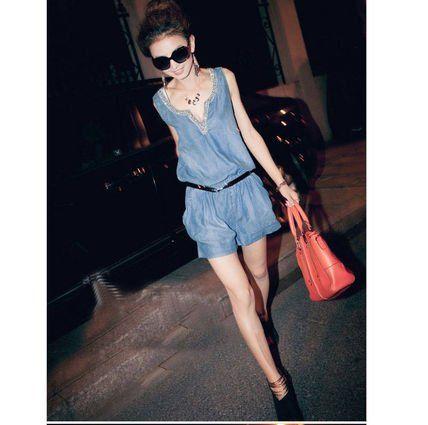 Amazon.co.jp: (ポップウェア)POPWEAR カジュアル サロペット オールインワン S M L アパレル 服 レディース ファッション (L): 服&ファッション小物通販