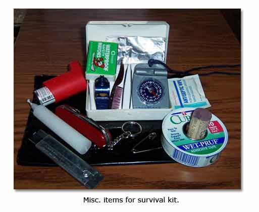 your own emergency survival kit