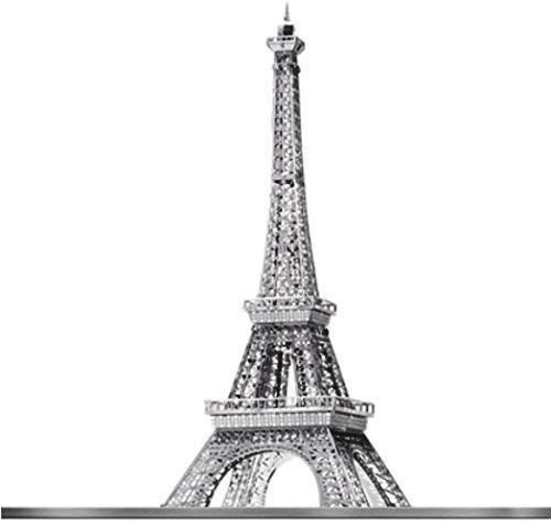 Eiffel Tower : Iconx Metal Earth 3D Laser Cut Miniature Model Kit 1 sheet in Toys & Games, Model Kits, Other Model Kits | eBay