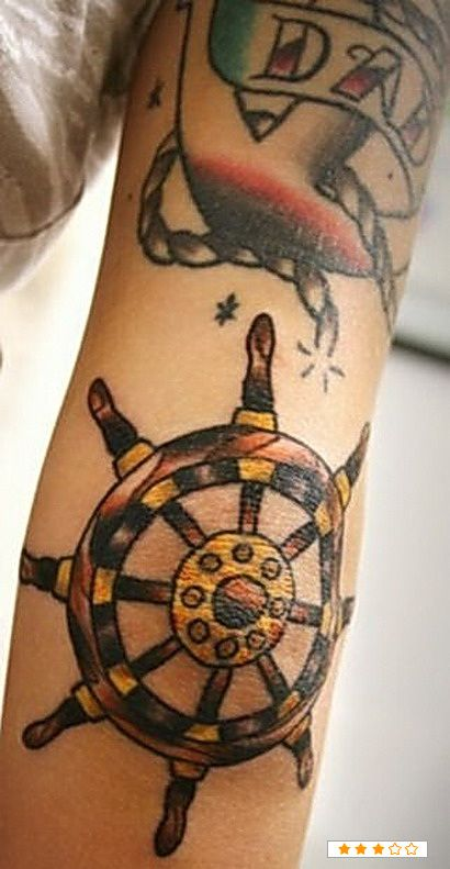 Finally found a pic of this. I'm getting this and an compass on the other elbow.