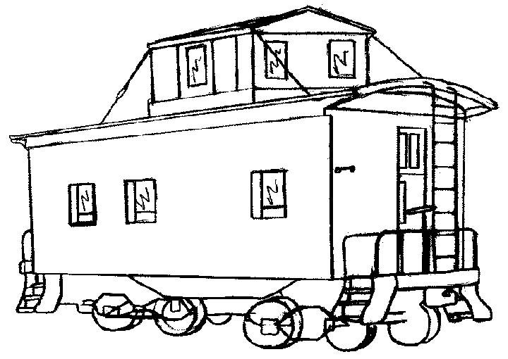 Train Caboose Coloring Pages 43921 Train Coloring Pages Coloring Pages Grade Pictures