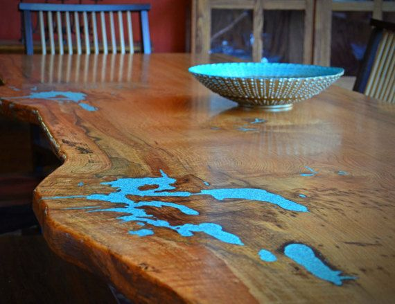 31 best turquoise images on pinterest birch wood crafts for Oak beauty pool table