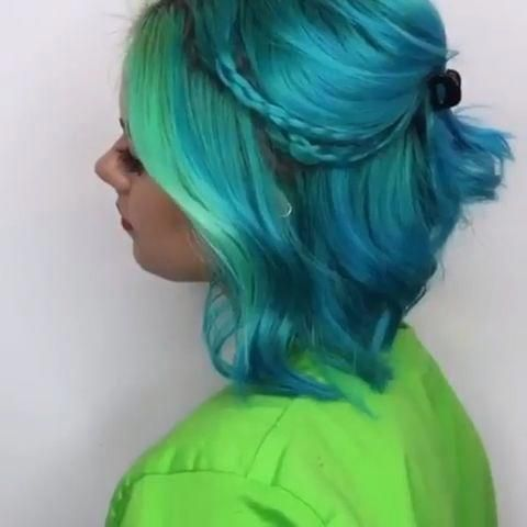 Breathtaking and Creative Hair Color Trends #hairtrend