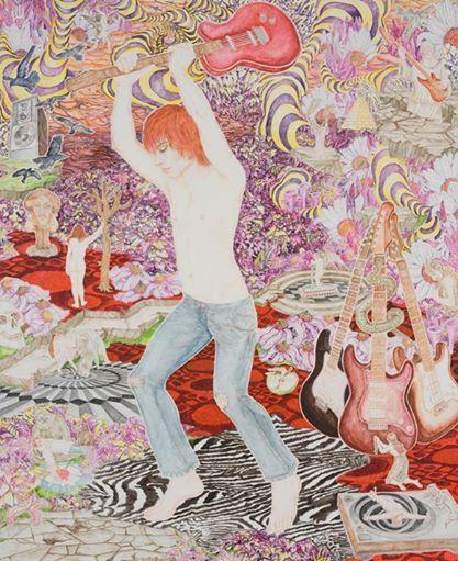 Abetz & Drescher Time for Action, 2009 Acrylic on canvas 270 x 220 cm