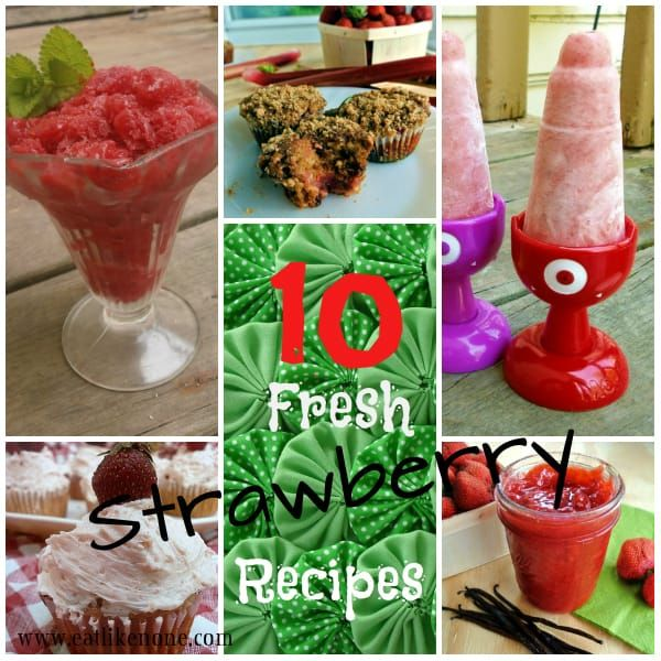 What I Made with 14 1/2 Pounds of Strawberries & More Recipes