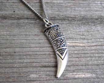 Collar de plata  joyería para hombre  collares para por Galismens
