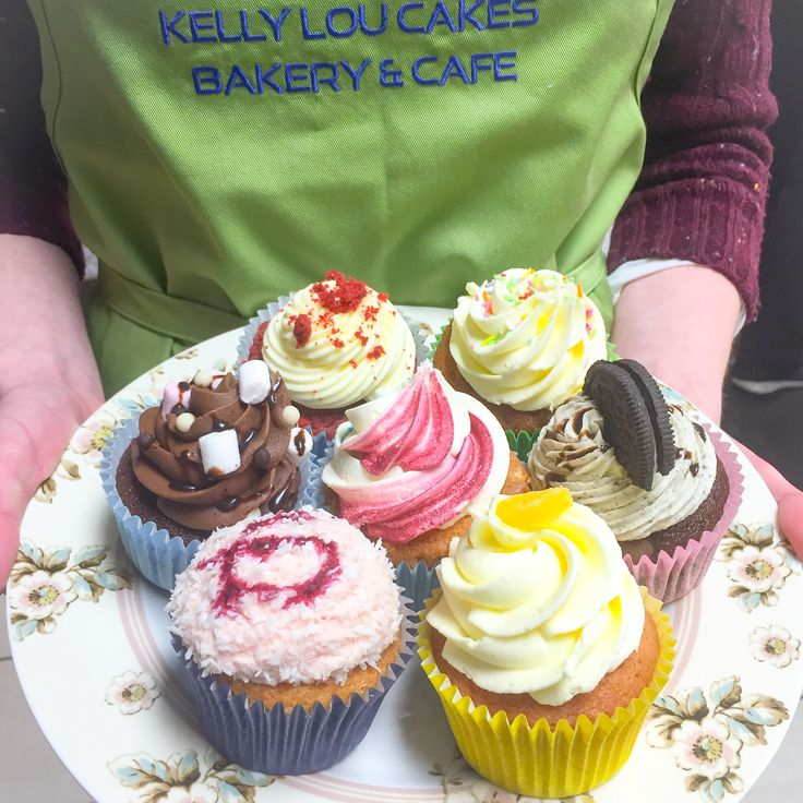 Variety is the spice of life! We offer at least a dozen flavours of cupcakes on our busiest days