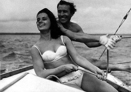 """""""Nóż w wodzie"""" (1961)  // 24. Film Romana Polańskiego // Filmowe Wyzwanie 2015"""