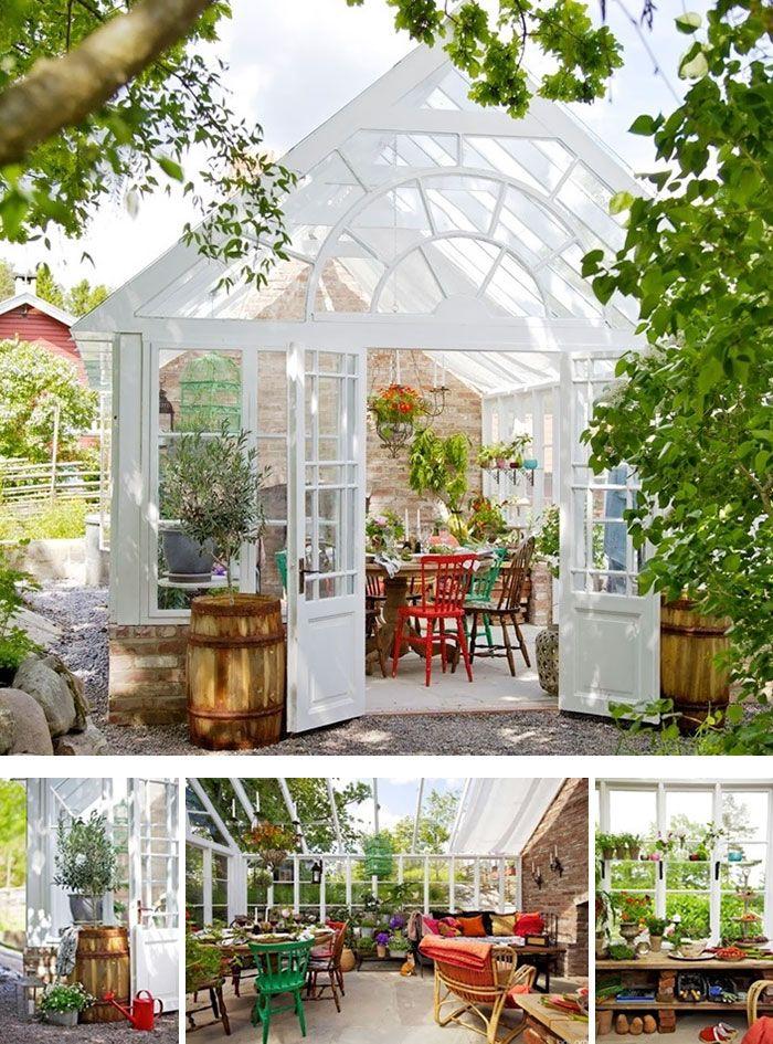 1624 best maison vitrée pour jardin, petite serre images on ...