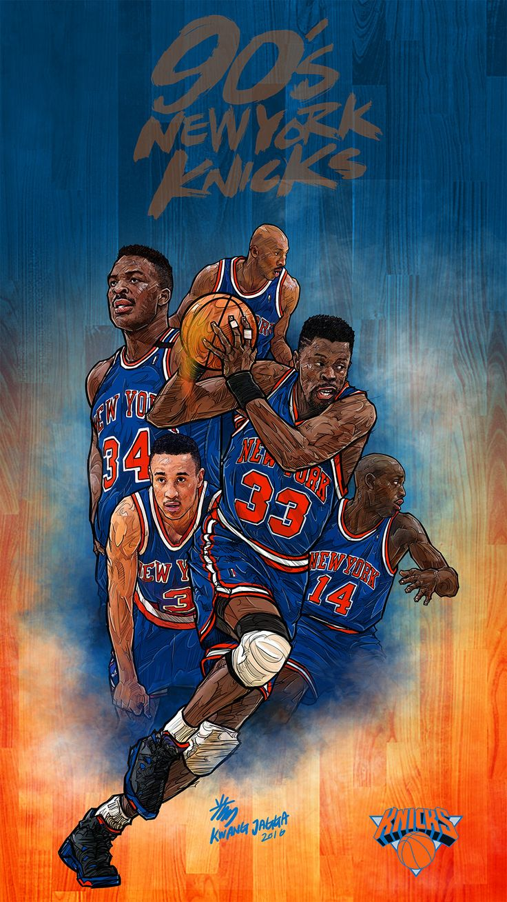 90's New York Knicks - Kwang33