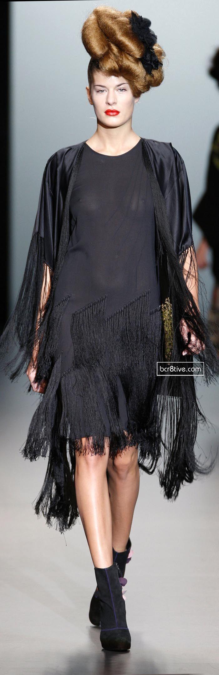 Elisa Palomino Mercedes-Benz Fashion Week Madrid SS 2011