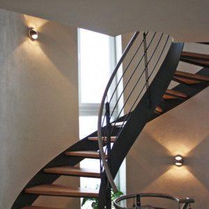 25 ideas destacadas sobre nuestras l mparas en tu hogar - Iluminacion escaleras interiores ...