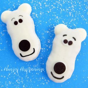 These Precious Polar Bear Cookies are as scrumptious as they are sweet. If your little ones love polar bears, why not make them a special treat.