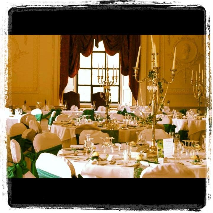 Lumley castle - reception room