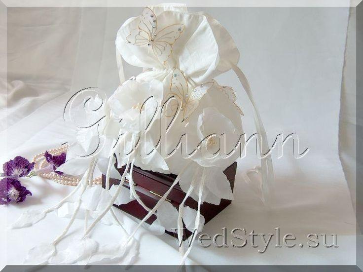Свадебная сумочка Gilliann Батерфляй BAG281 #weddingbag #weddingclutch