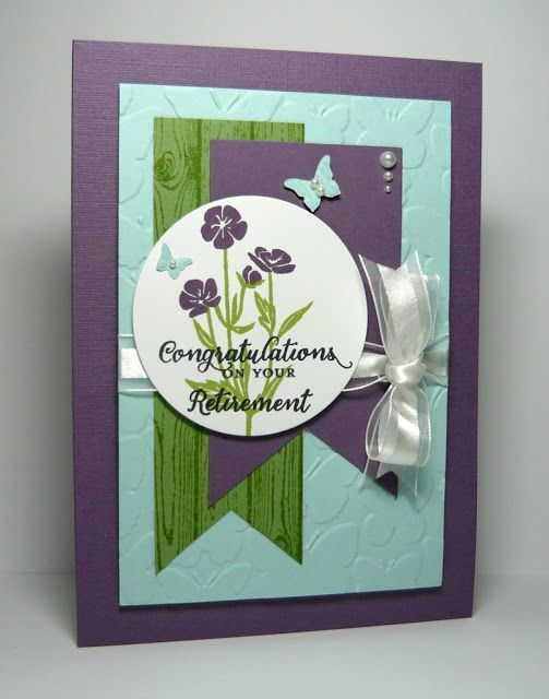 Card Making Ideas Retirement Part - 17: Wild About Flowers, Retirement By - Cards And Paper Crafts At  Splitcoaststampers, Stampinu0027 Up!
