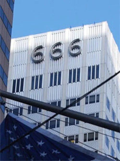 666 Fifth Avenue NYC where Lucent Technologies is working on the RFID chip for every American Owned by Jared Kushner