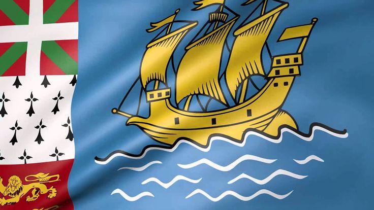 Saint Pierre Animated Flag