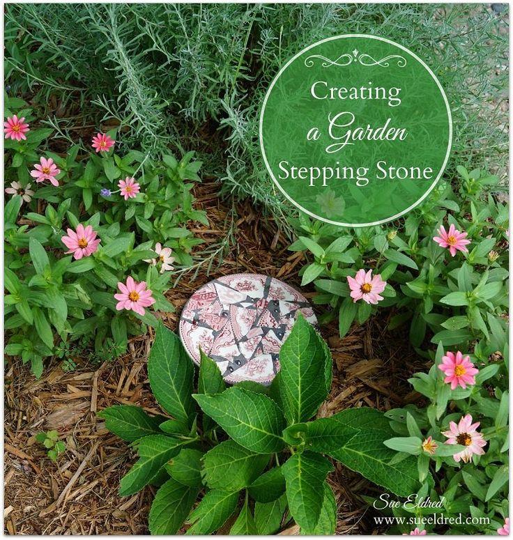 Creating a Garden Stepping Stone
