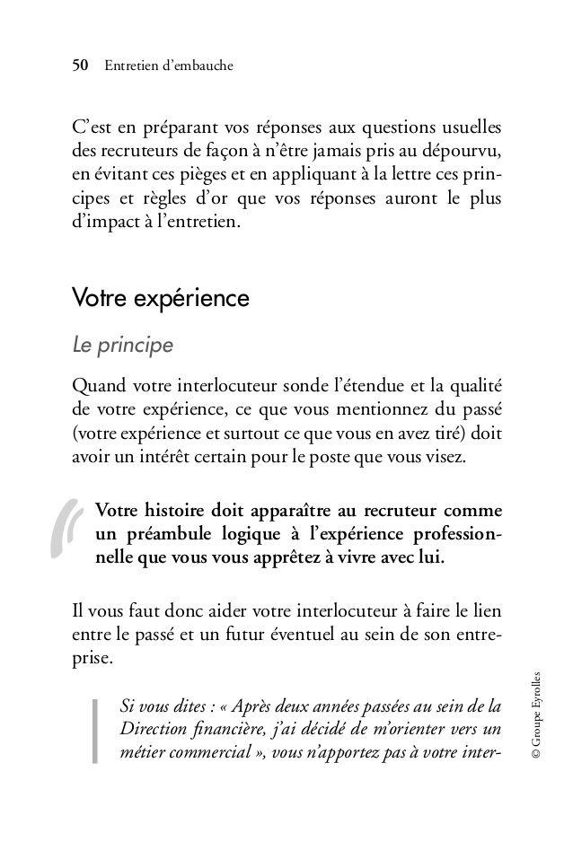 Entretien D Embauche La Methode Pour Reussir
