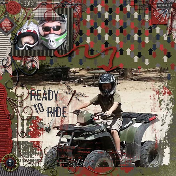 This is for Sassyscrap's February 2017 Word Prompt Challenge.  I used Arrr...Men Super Value Bundle by Nutkin Tailz Designs.