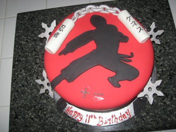 ninja birthday cake ideas - Google Search