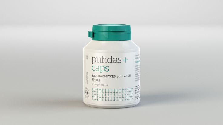 Branding & Package design for nutritional supplement brand Puhdas+