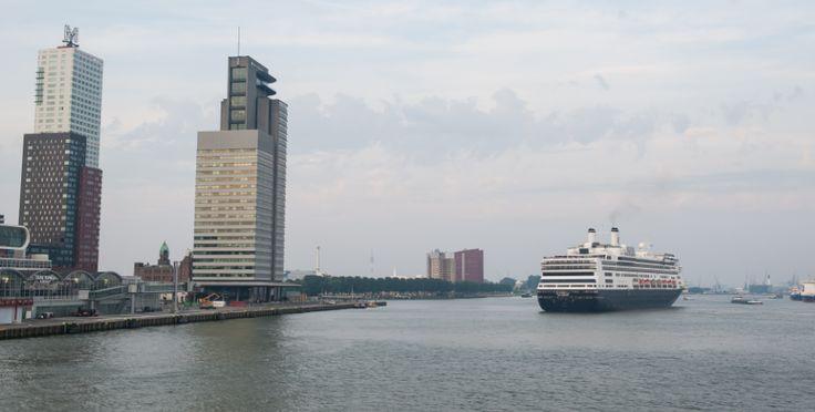 Holland America Line heeft 100ste aankomst ms Rotterdam in Rotterdam gevierd met doopvrouw H.K.H. Prinses Margriet der Nederlanden #cruises #nederland #reizen #toerisme