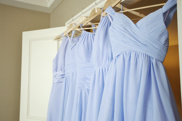 pastel colours for bridesmaids dresses by BriannaKate Photography