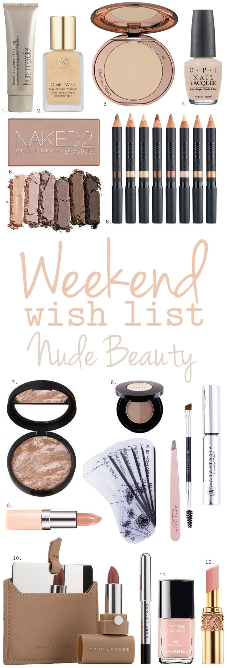 Nude Beauty - the best nude make-up buys | The Little Beauty Guide.
